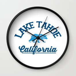 Lake Tahoe. Wall Clock
