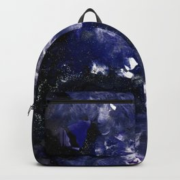 galaxy in blue Backpack