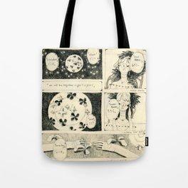 「even.」 Tote Bag