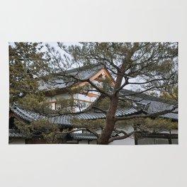 Golden Pavilion in Kyoto, Japan Rug