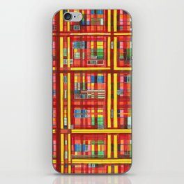 Plaid is my favorite Fall colr iPhone Skin