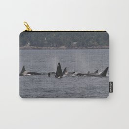 Transient Orcas Carry-All Pouch