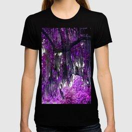 Trees Purple Moss T-shirt