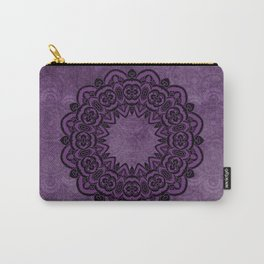 Circle in Purple Carry-All Pouch