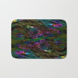 Evening Pond Rhapsody Bath Mat