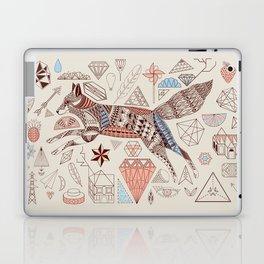 Fox + Diamonds Laptop & iPad Skin