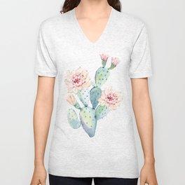The Prettiest Cactus Unisex V-Neck