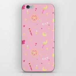 Sailor Moon Pattern iPhone Skin