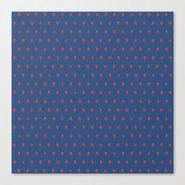 Blue Strawberry Field Canvas Print