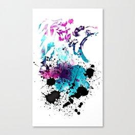 Lions Splash by GEN Z Canvas Print