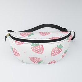 Strawberries Fanny Pack