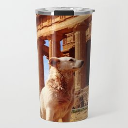 Majestic Dog for a Majestic View Travel Mug