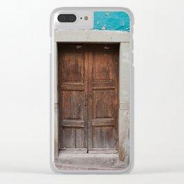 Mexican Door 1 Clear iPhone Case