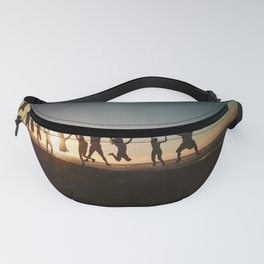Friends Jumping Fanny Pack