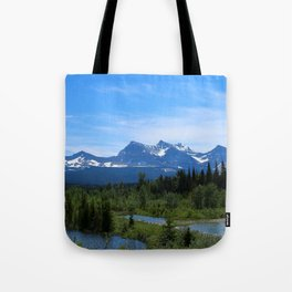 Belly River Tote Bag