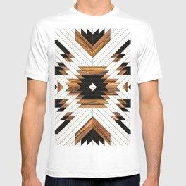 Urban Tribal Pattern No.5 - Aztec - Concrete and Wood T-shirt