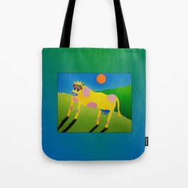 Udderly Abstract 7 - Funny Cow Art Tote Bag