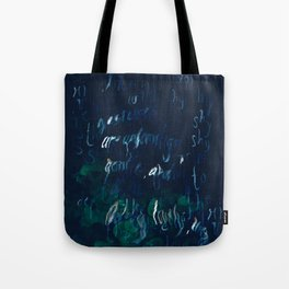 """""""Conquest of the Useless"""" by Werner Herzog Print (v. 9) Tote Bag"""