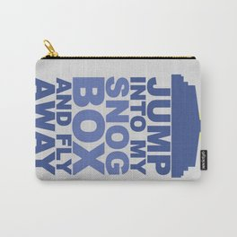 Snog Box (Tardis) Carry-All Pouch