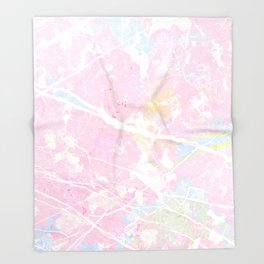 Pastel Candy Pollock marble Throw Blanket