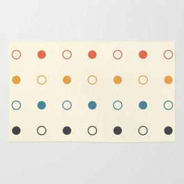 Seeing Dots Rug