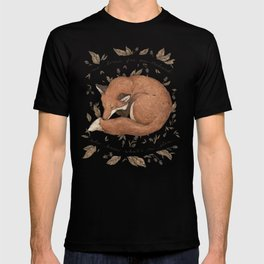 Sleeping Fox T-shirt