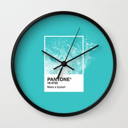 PANTONE SERIES – SPLASH Wall Clock