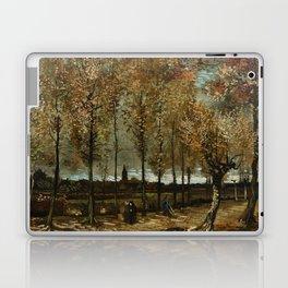 Vincent Van Gogh Poplars Near Nuenen Laptop & iPad Skin