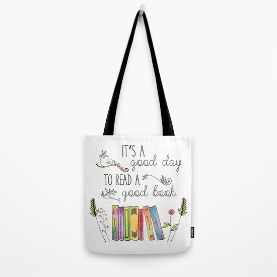 4f8c96de4f54 LoveLit Curled Up with a Good Book Gusseted Canvas Tote Bag