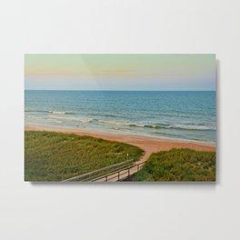 Ponte Vedra Beach on Sunset Metal Print