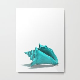 Aura the Seashell - illustration Metal Print