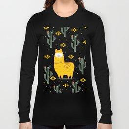 Alpaca summer Long Sleeve T-shirt