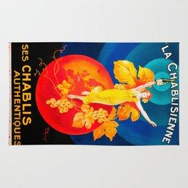 Vintage poster - La Chablisienne Rug