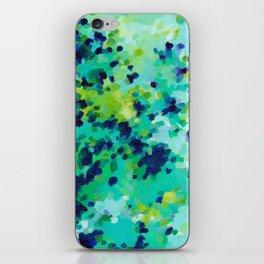 Aquamarine Addiction iPhone Skin
