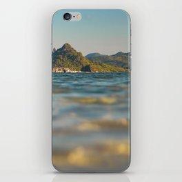 Ocean Sunset at El Nido iPhone Skin