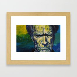 Clint Eastwood Framed Art Print