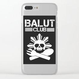 Balut Club Clear iPhone Case