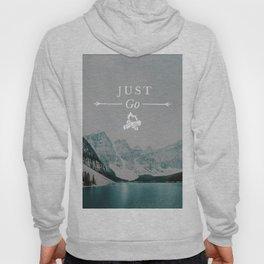 Just Go - Moraine Lake Hoody