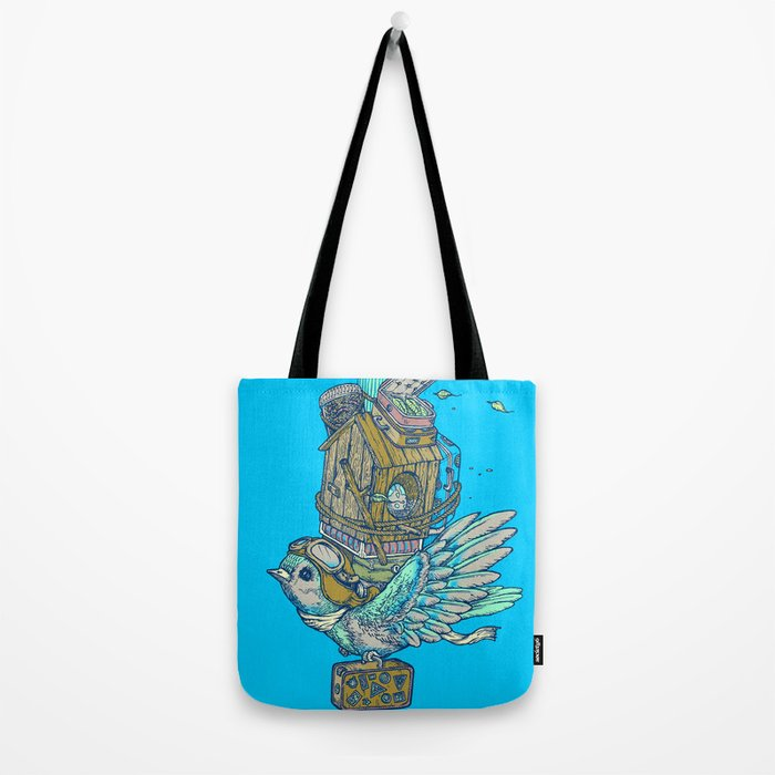 Bird Migration Tote Bag
