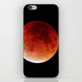 Super Moon Eclipse 2015 (Blood Moon) iPhone Skin