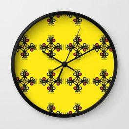 Cayni Desing Yellow Wall Clock
