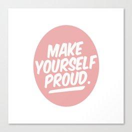 make youreself Canvas Print