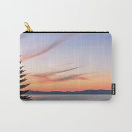 Tahoe Sunset Carry-All Pouch