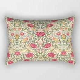 """William Morris """"Rose"""" Rectangular Pillow"""