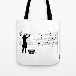 making more music Tote Bag