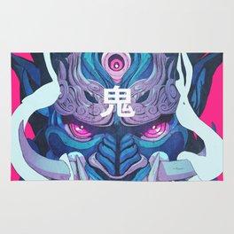 Oni Mask 01 Rug