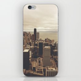 Chicago City Buildings Color Photo Architecture iPhone Skin