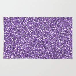 Purple shine Rug