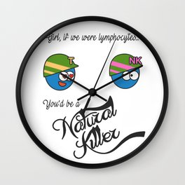 Natural Killer Cell and T lymphocyte Wall Clock