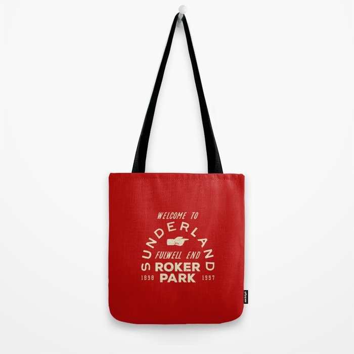 Roker Park Football Ground Tote Bag